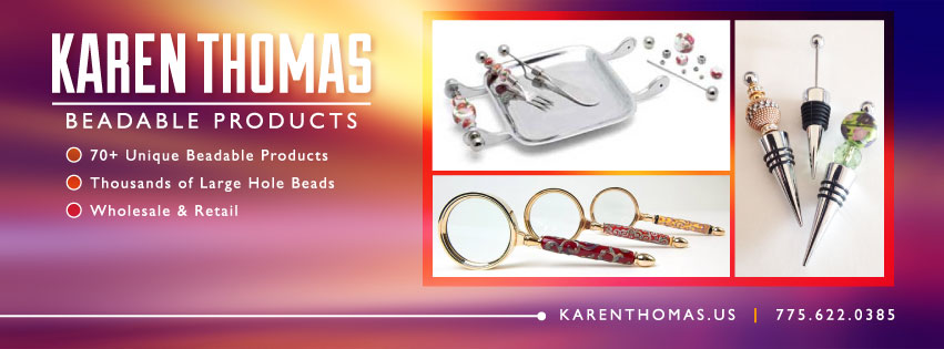 Beadable Products by Karen Thomas