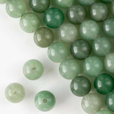 12mm Adventurine Rounds - (1 Strand)