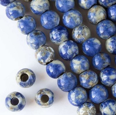 12mm Sodalite Rounds - (1 Strand)