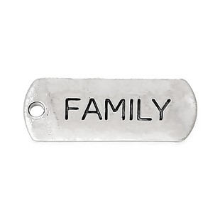 Family Charm - (5 Charms)