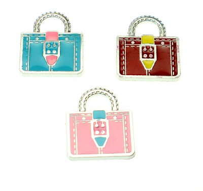 Handbags Mixed Colors - (3 Charms)