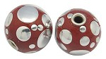 16mm Red Round (5 Beads) - SORRY OUT OF STOCK
