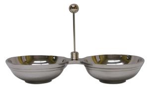 Stainless Steel Double Dip Bowl