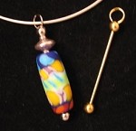 GOLD Large Add-A-Bead Pendant - CLEARANCE