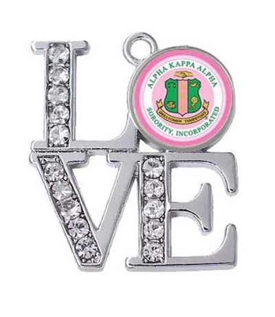 Large Crystal AKA Love  Charms - (2 Charm)