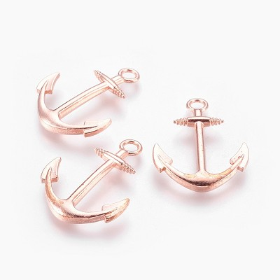 Copper Anchor - (3 Charms)