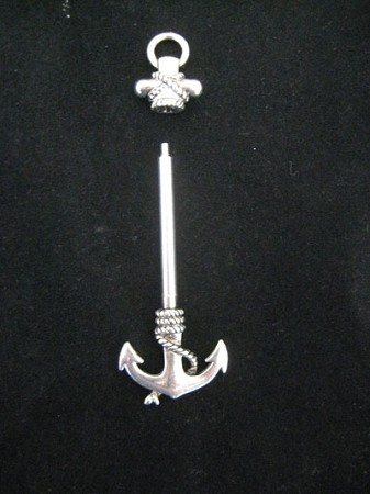 Anchor Pendant - (NEEDS 3MM HOLES)