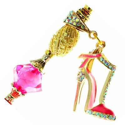 Breast Cancer Bling  Stiletto