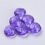 22mm Lavender Acrylic Pillow - (5 Beads)