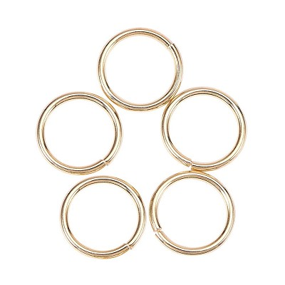 18 Gauge Gold Jump Rings - (Approximately 50 Pieces)