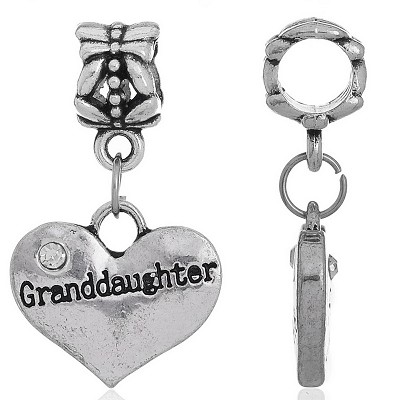 Granddaughter Charm - (3 Charms)