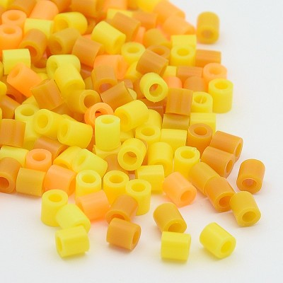 Mini Yellows & Gold  -- (2oz/approx. 100 beads)