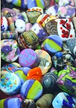 Large Orphan Beads - (6 Beads)