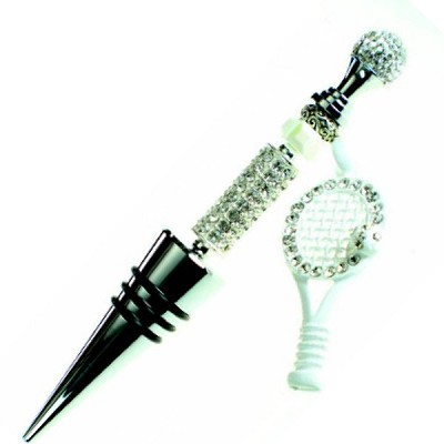 DIY Tennis Anyone? Wine Stopper