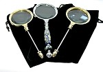 3 Magnifying Glasses & 3 Pouches - SORRY SOLD OUT/JANUARY