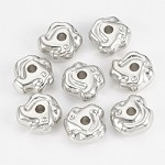 27mm Metalized Abstracts (5 Beads)