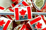 Canadian Flag - (3 Beads)