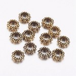 3mm Antique Gold  - (10 Beads)