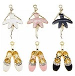 Ballet Tutu or Shoes - (3 Charms)
