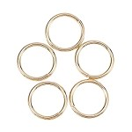 18 Gauge Gold Jump Rings - (50 Pieces)