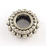 10mm Antique Silver  - (10 Beads)