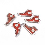 Red Sneakers  Charm - (5 Charms)