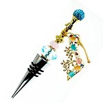 DIY Diva Crystal Shoe Wine Charm - SORRY SOLD OUT