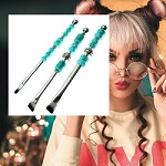 Turquoise Make-Up Brush Trio