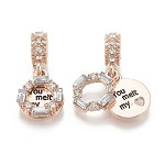 25mm You Melt My Heart - (3 Charms)