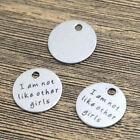 20mm I Am Not Like Other Girls - (3 Charms)