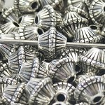 16mm Acrylic Spaceship Shaped Beads - (5 Beads)