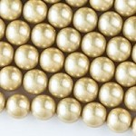 8mm Gold Shell Pearl - (1 Strand)