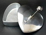 Small Heart Trinket Bowl with Lid