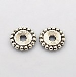 18mm Metal Spacer  (10 Beads)